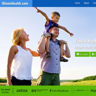 Illinois Health Responsive JQuery Ajax