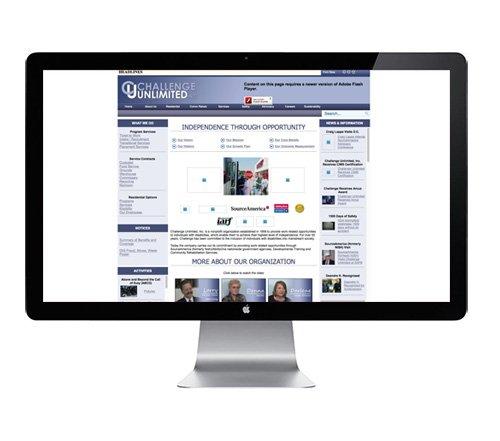 Challenge Unlimited Old Website