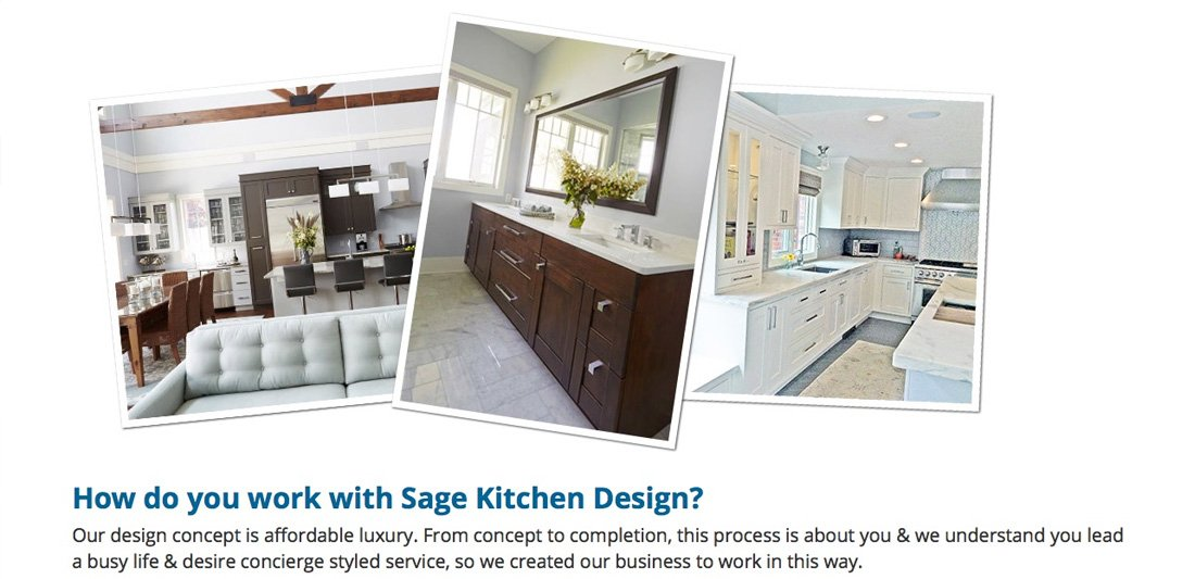 Sage Kitchen Graphic Design and Photos
