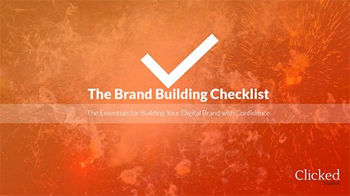 The Brand Building Checklist
