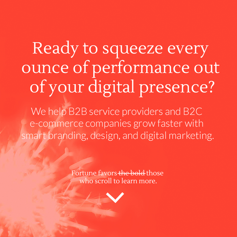 Ready to squeeze every ounce of performance out of your digital presence?